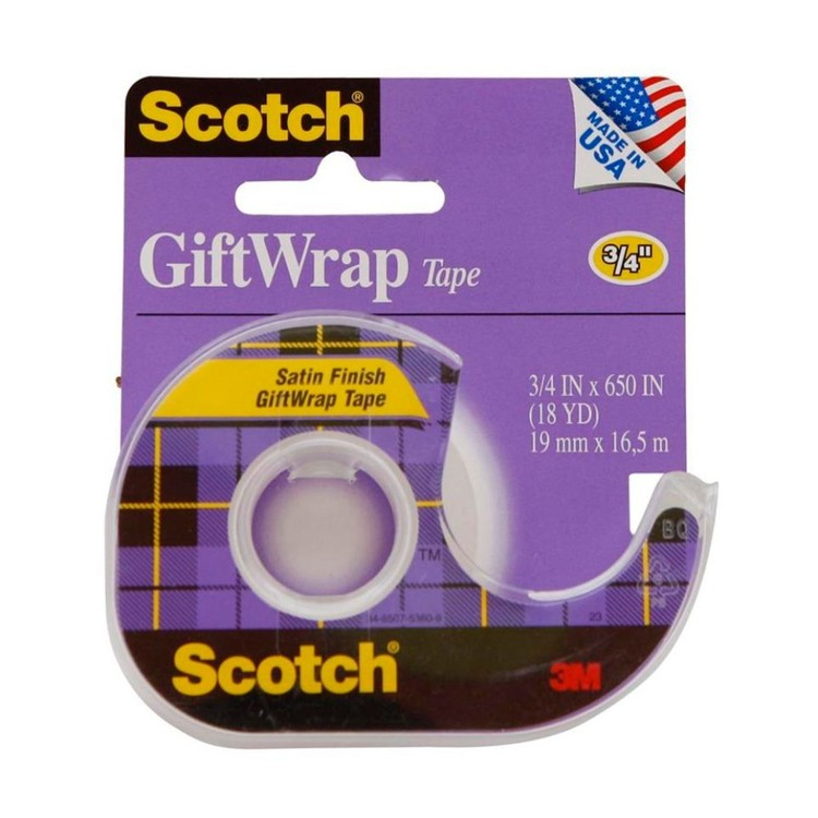 Scotch Gift Wrap Tape Clear
