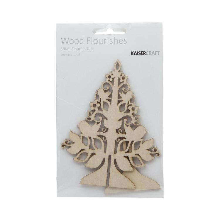 Kaisercraft Wooden Flourishes Tree Natural