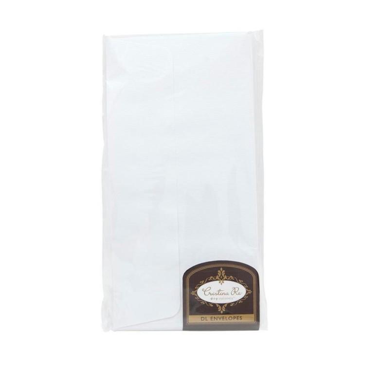 Cristina Re DL Luxury Linen Envelopes 10 Pack