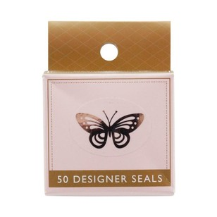 Cristina Re Butterfly Metallic Seals
