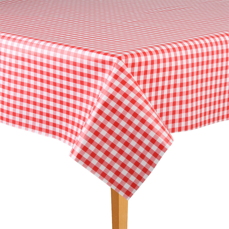 Ladelle Gingham Tabletone By The Metre Red