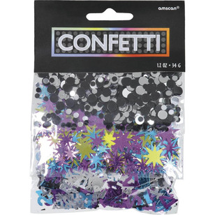 Amscan 21st Party Confetti Triple Pack
