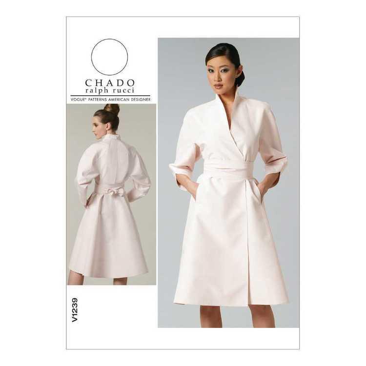 Vogue Pattern V1239 Misses' Dress & Belt