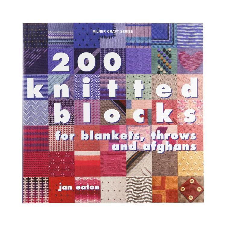 Sally Milner Publishing 200 Knitted Blocks White