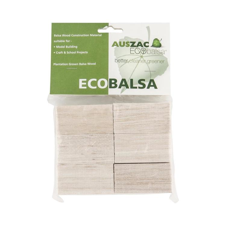 Eco Balsa Blocks Basics Pack Natural
