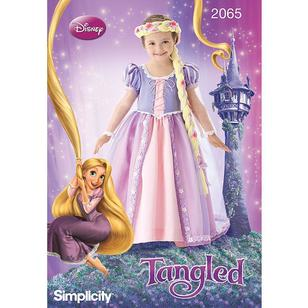 Simplicity Pattern 2065 Disney Princess Tangled Dress