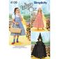 Simplicity Pattern 4139 Wizard Of Oz Costumes  3 - 8