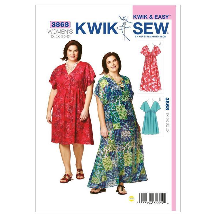 Kwik Sew Pattern K3868 Dresses
