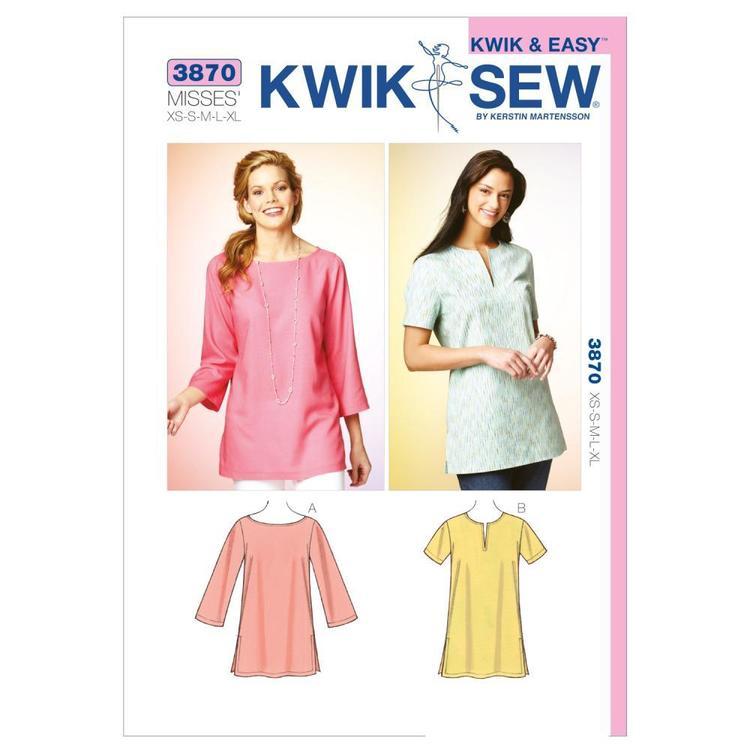Kwik Sew Pattern K3870 Tunics