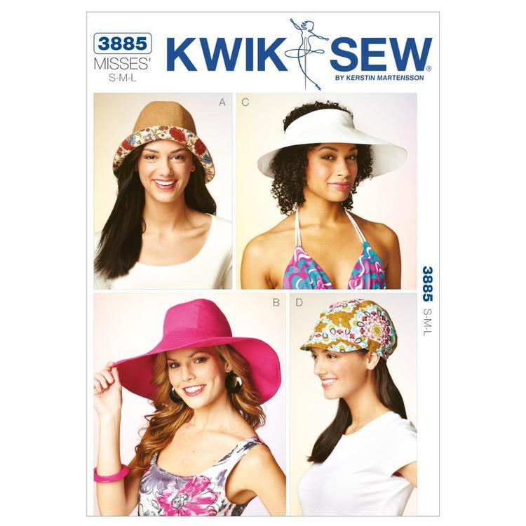 Kwik Sew Pattern K3885 Hats