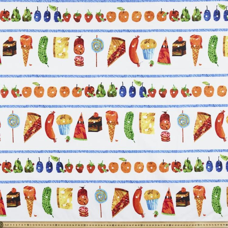 Very Hungry Caterpillar Cakes Fabric