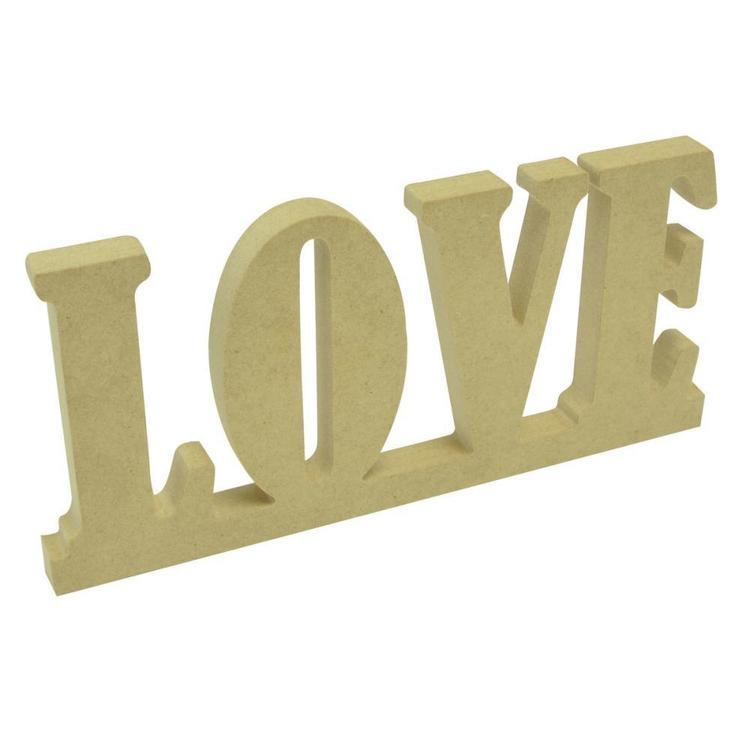 Kaisercraft KAISERdecor Wooden Word Love