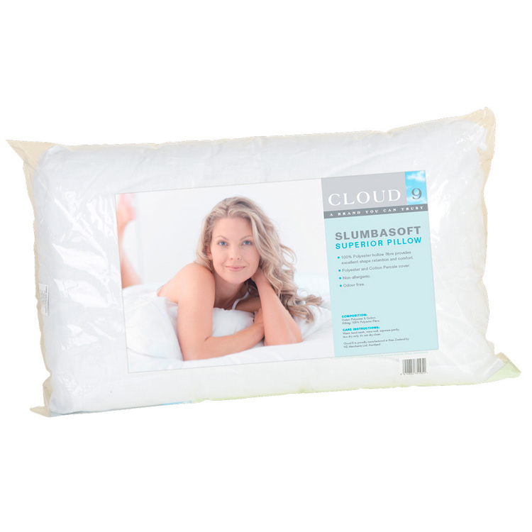 Cloud 9 Slumbasoft Pillow White Standard