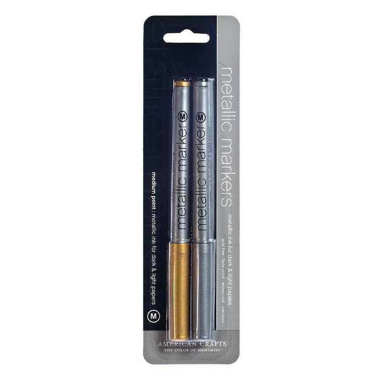 American Crafts Metallic Markers