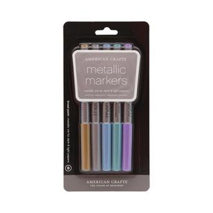American Crafts Broad Metallic Markers
