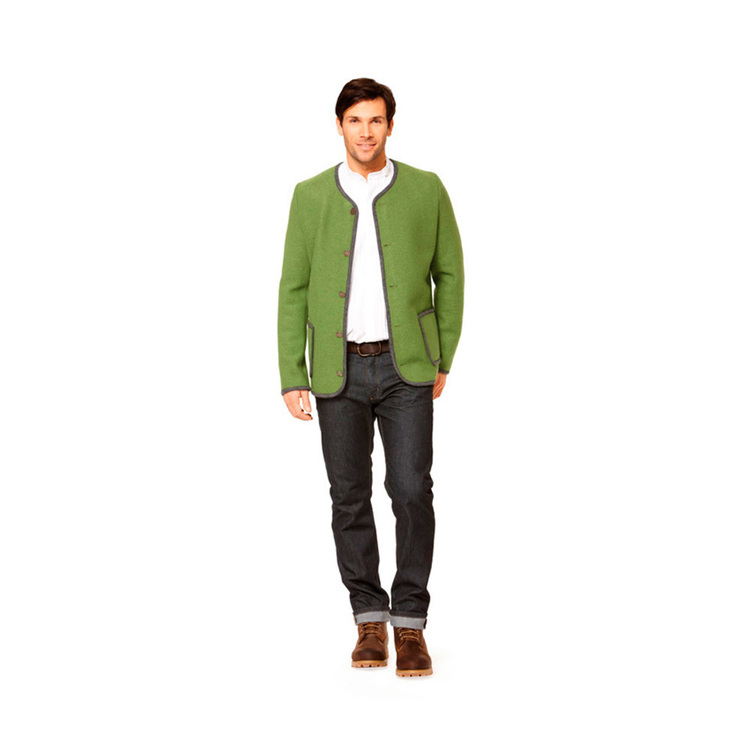 Burda 7291 Men's Jacket  40 - 50