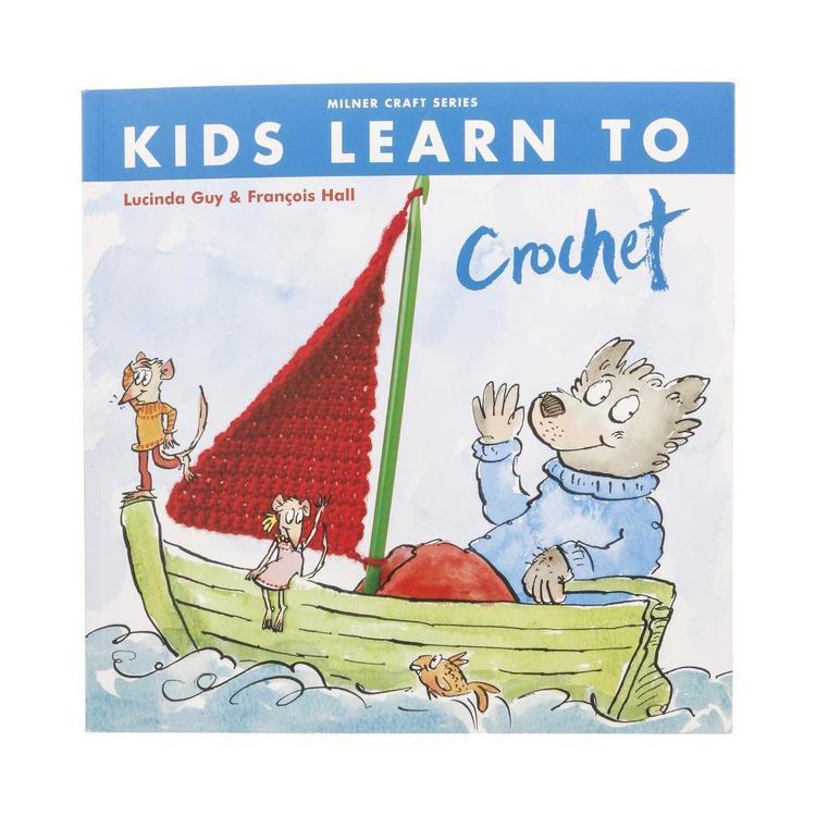 Sally Milner Publishing Kids Learn To Crochet