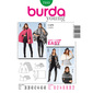 Burda Pattern 7313 Women's Coat  10 - 22