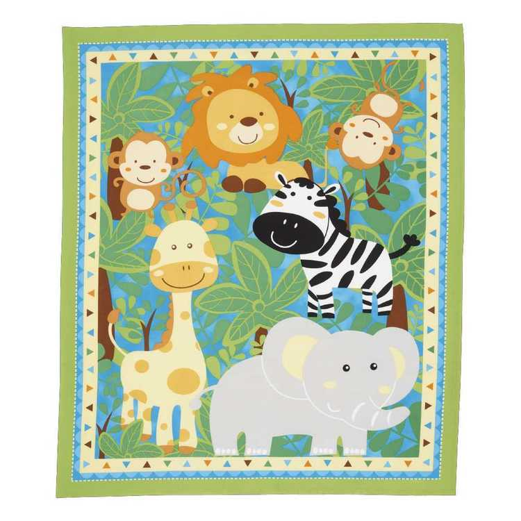 Sugar Amp Spice Baby Jungle Panel
