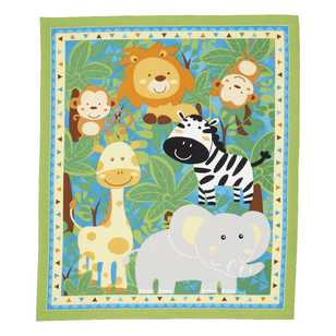 Sugar & Spice Baby Jungle Panel