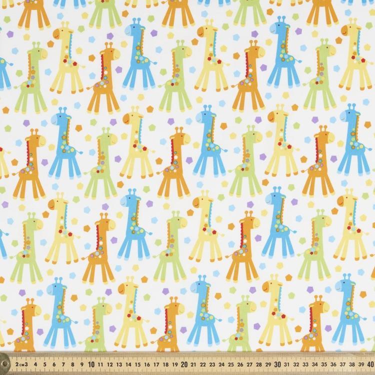 Sugar & Spice Textiles Giraffe All Over Printed Fabric