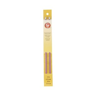 Boye Aluminium Purple Knitting Needles