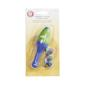Boye Ergonomic Aluminium Crochet Handle Blue & Green
