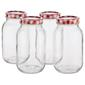 Mason Preserving Jars Set of 4 Clear