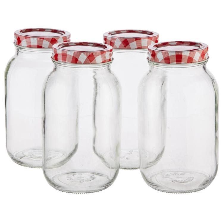 Mason Preserving Jars Set of 4