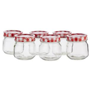 Mason Preserving Jars Set of 6