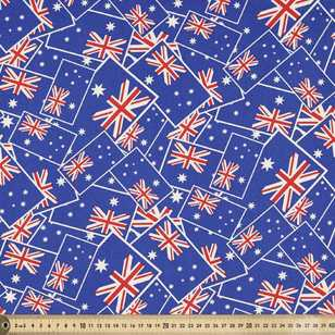 Australia National Flags Printed 112 cm Drill Fabric