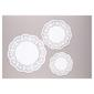 D.Line 18 Assorted Paper Doilies White