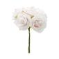 Vivaldi Blossoms 5 Head Foam Rose Bunch