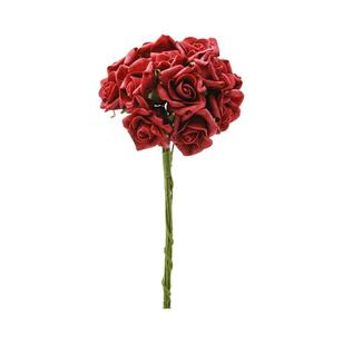 Vivaldi Blossoms 12 Head Foam Rose Bunch