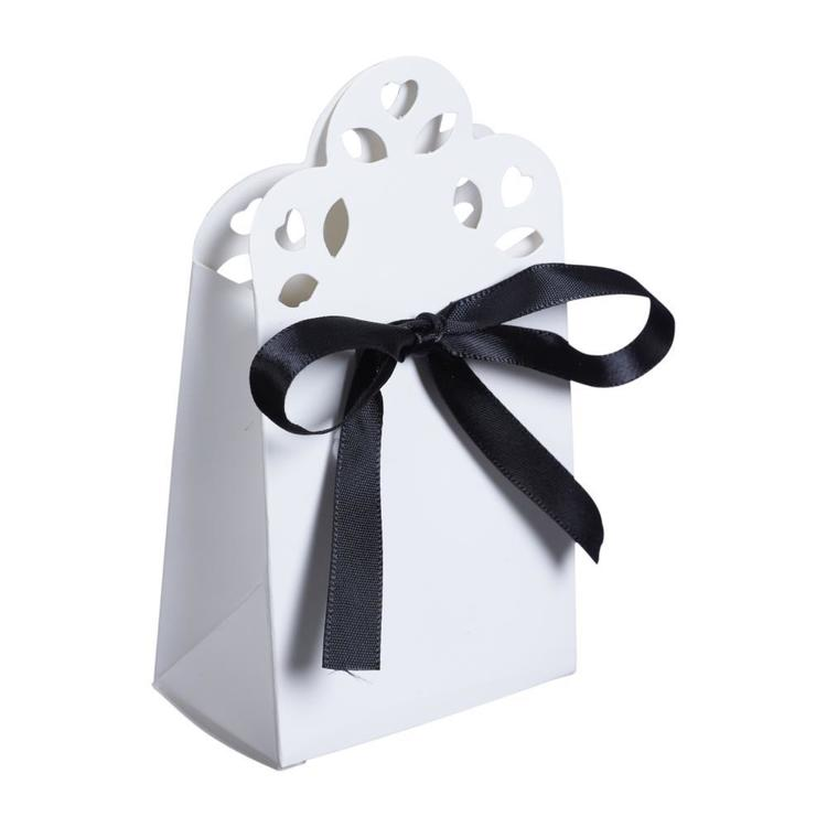 Favours Bomboniere Boxes with Ribbon 15 Pack