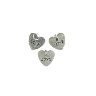 Favours Love Heart Charms 10 Pack