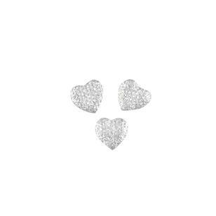 Favours Rhinestone Glitter Hearts 20 Pack