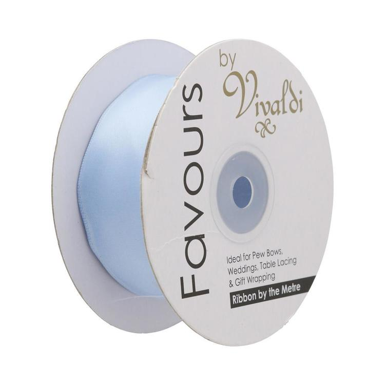 Favours 38 mm Wire Edge Satin Ribbon By The Metre