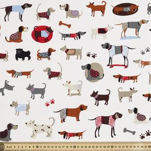 Show Dog Printed 112 cm Montreaux Drill Fabric