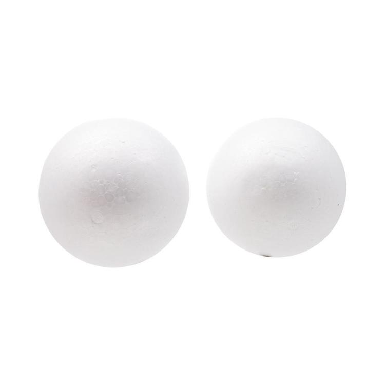 Shamrock Craft Deco Foam Balls 2 Pieces