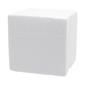 Shamrock Craft Deco Foam Cube White 90 mm