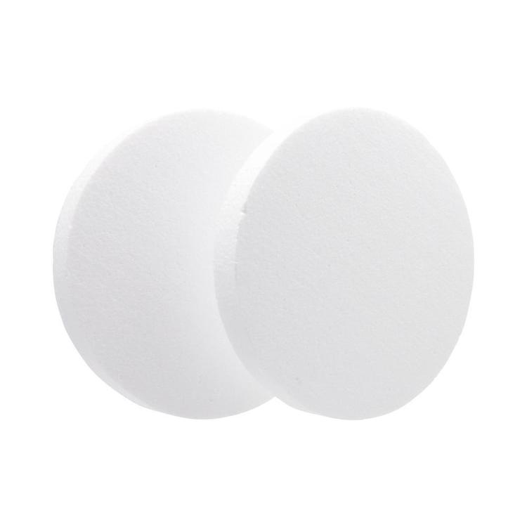 Shamrock Craft Deco Foam Circle 2 Pieces White 200 mm
