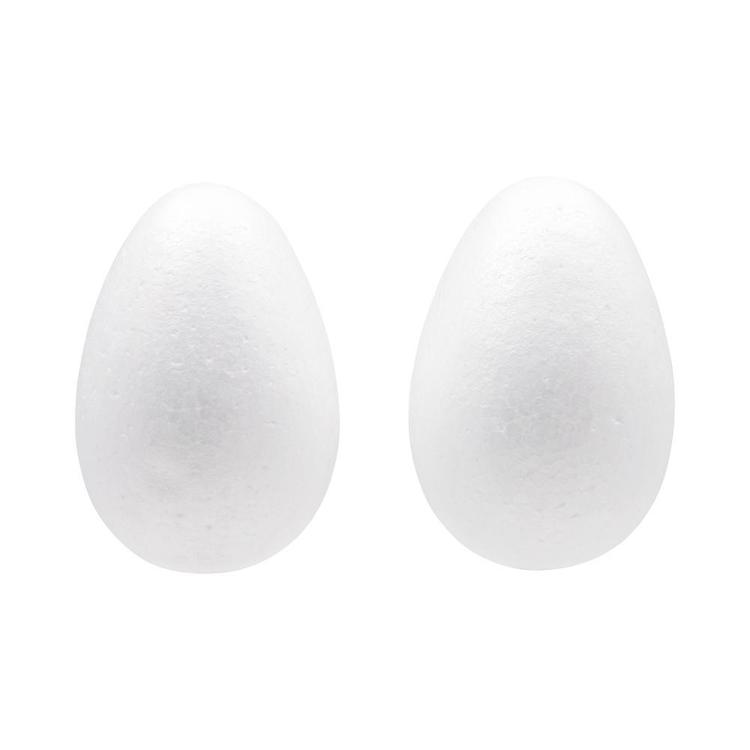 Shamrock Craft Deco Foam Egg 2 Pieces