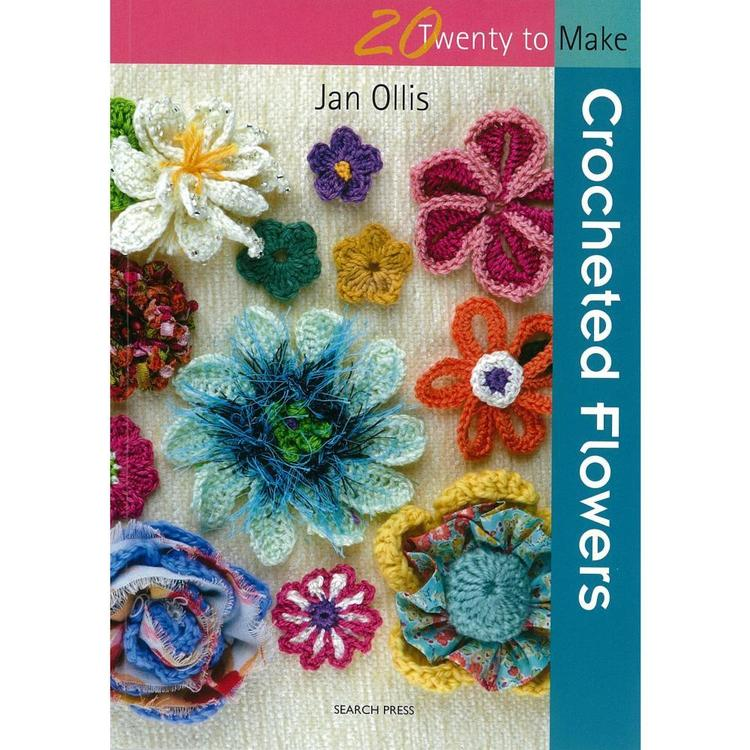 Search Press Twenty To Make: Crocheted Flowers Book White