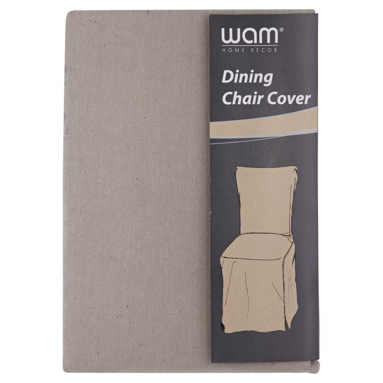 WAM Dennis Dining Chair Cover Stone