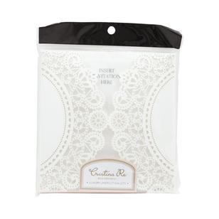 Cristina Re Lace Cut Doily Wallet