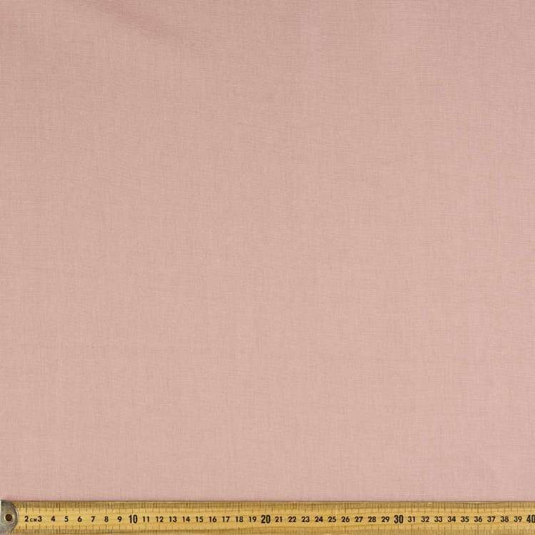 Plain 112 cm Cotton Linen Fabric