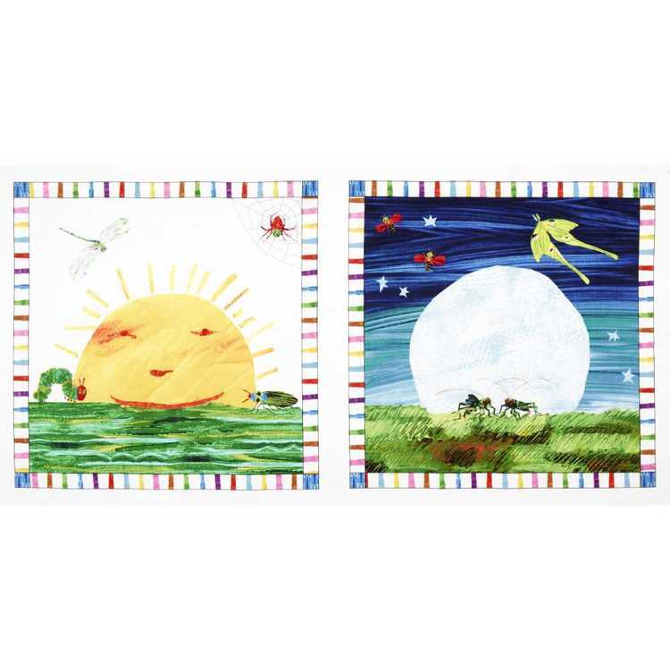 Very Hungry Caterpillar Patch Fabric