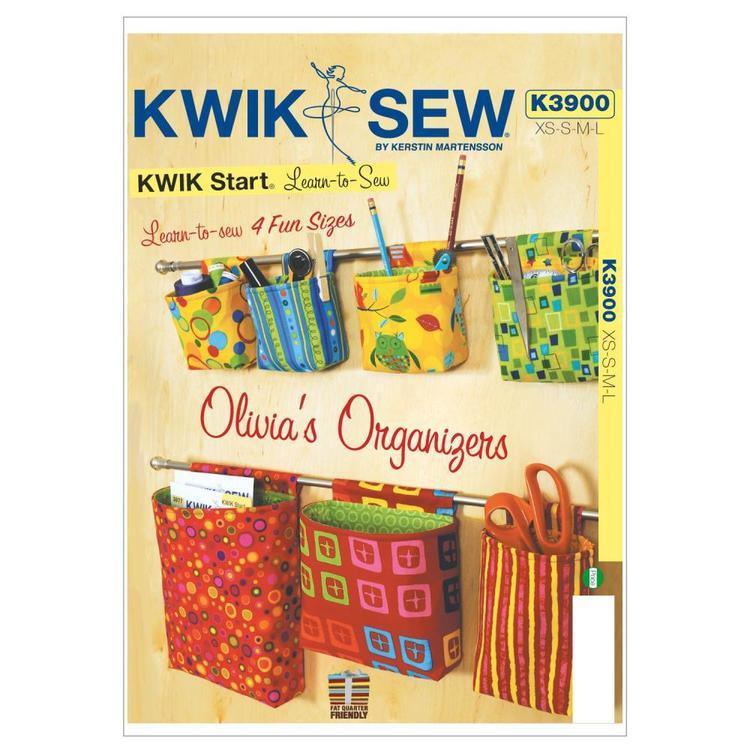Kwik Sew Pattern K3900 Olivias' Organizers