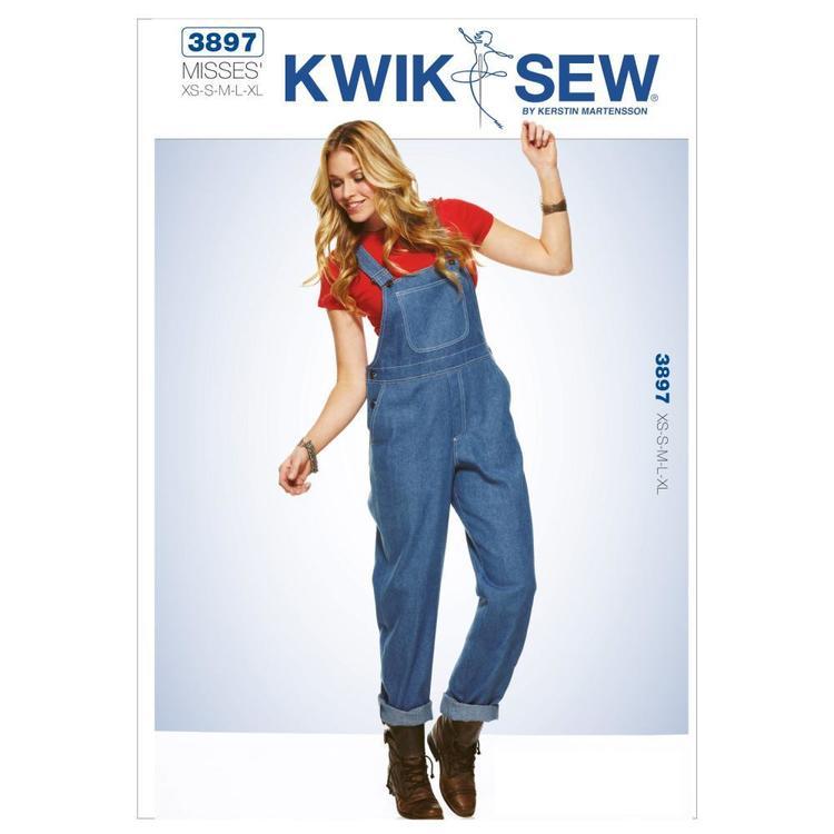 Kwik Sew Pattern K3897 Overalls